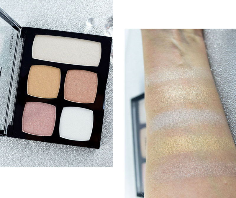 Catrice Big Palettes Light in a Box Highlighter Palette, Catrice Neues Sortiment Frühjahr Sommer 2018, Review, Swatch