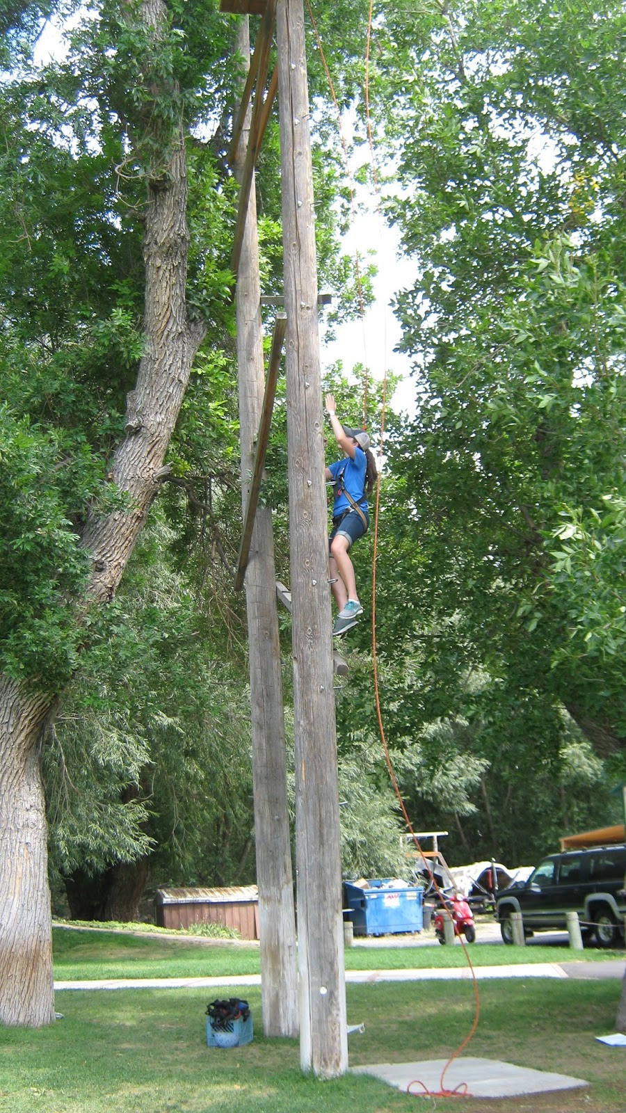 Ziplining Across The Usa Monday August 12 Clas Ropes