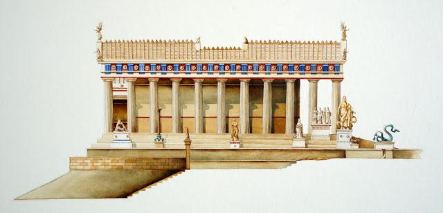 Ο ναός του Ασκληπιού στην Αρχαία Επίδαυρο