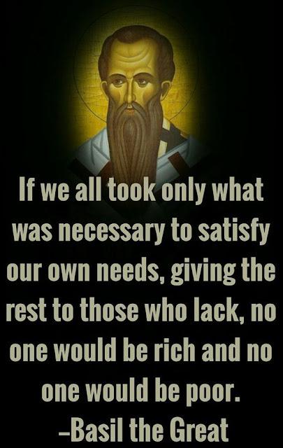 Basil the Great Bishop of Caesarea Saint Vasileios