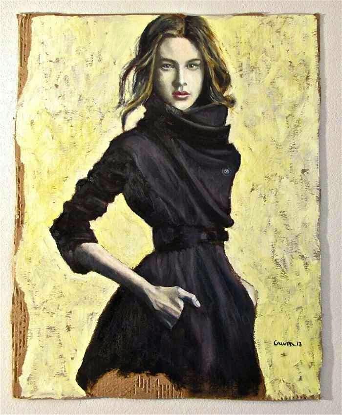 Картины на гофрокартоне. Terry Crum