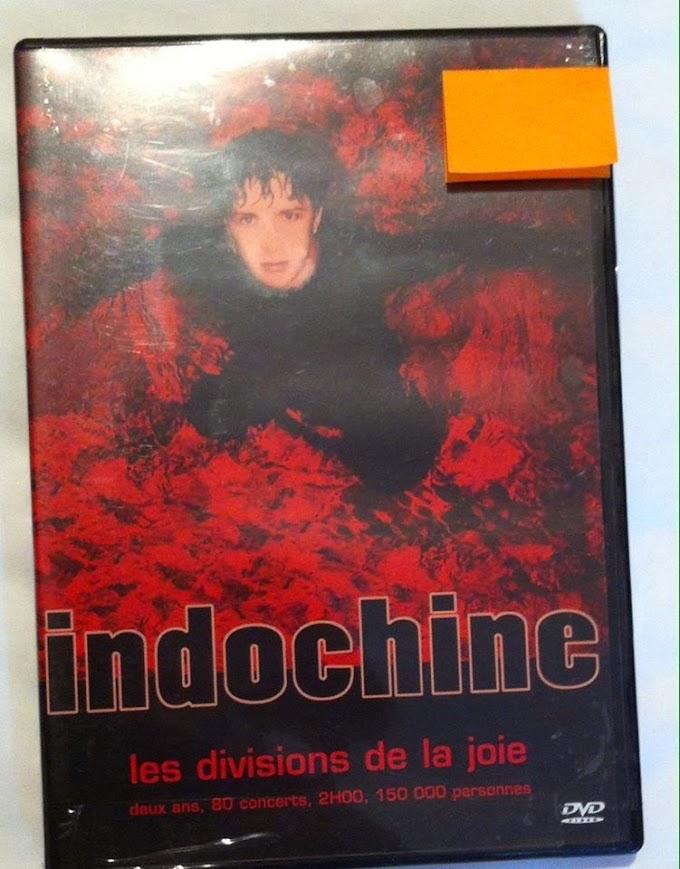 DVD - Indochine - Les divisions de la joie (semi nuevo)