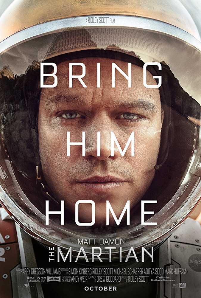 The Martian (2015) EXTENDED  720p Dual Audio [ Hindi – English ] BluRay Movie