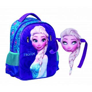 Ghiozdan pentru gradinita fetite cu Elsa Frozen se poate gasi aici
