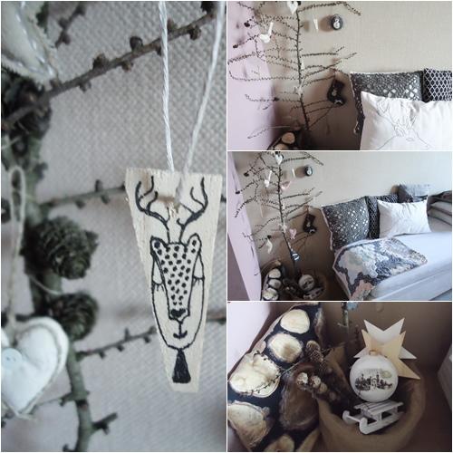 ekologiczna dekoracja z gałęzi