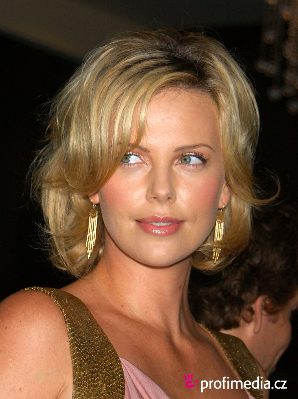 celebrity charlize theron hairstyle wallpaper prom. Black Bedroom Furniture Sets. Home Design Ideas