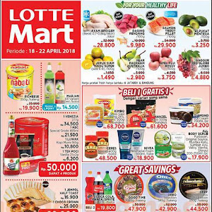 Katalog Promo Lottemart Hypermarket Weekend 18 - 22 April 2018