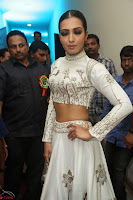 Catherine Tresa in Beautiful emroidery Crop Top Choli and Ghagra at Santosham awards 2017 curtain raiser press meet 02.08.2017 129.JPG