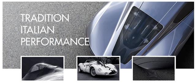 El diseñador Andrea Ortile conjuga una serie de elementos para el Maserati MC-63 Hypercar