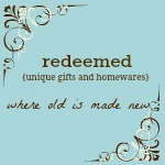 redeemed unique gifts and homewares