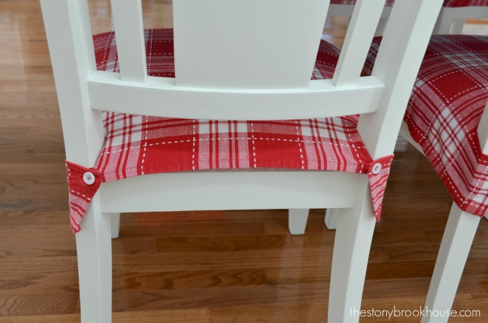Attaching Seat Covers to Chair