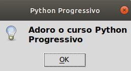Dialog box em Python