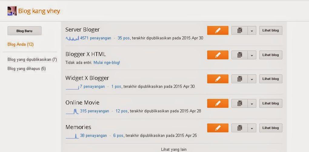 Cara Memasang Widget di Blogspot Valid HTML5