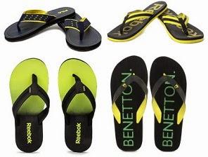 Men's Slippers & Flipflops under Rs.499 @ Flipkart