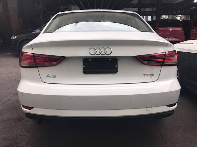 Novo Audi A3 Sedan 2017 facelift