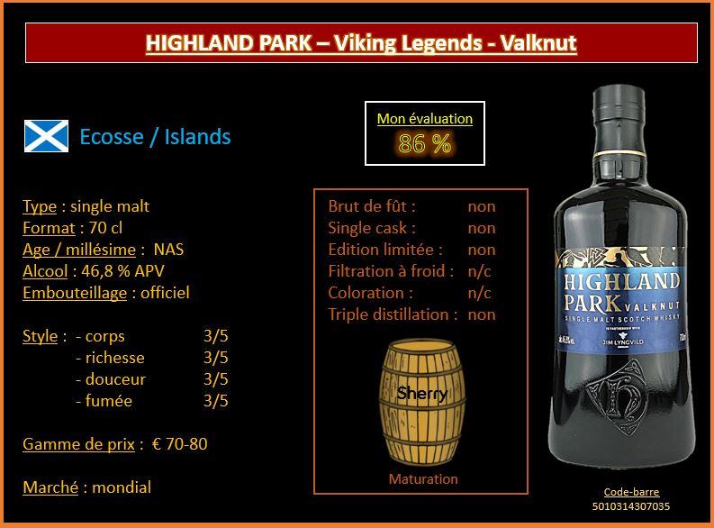 Review #528 : Highland Park – Viking Legends - Valknut