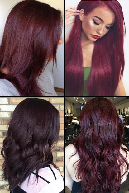 9 hottest burgundy hair color ideas