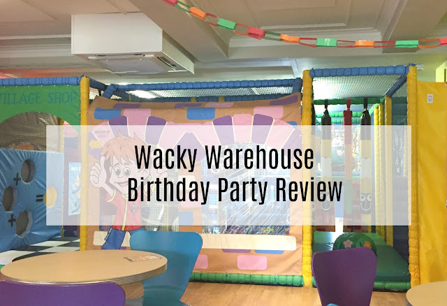 Wacky Warehouse Newcastle Birthday Party review