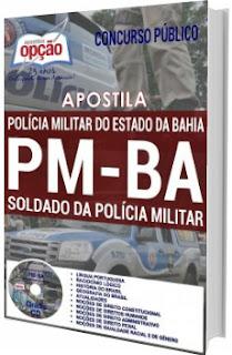 Apostila Concurso PM-BA 2017 Soldado
