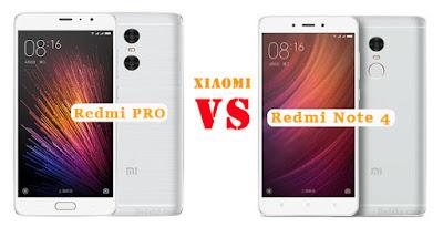 Xiaomi Redmi Note 4 VS Redmi Pro Dual Kamera