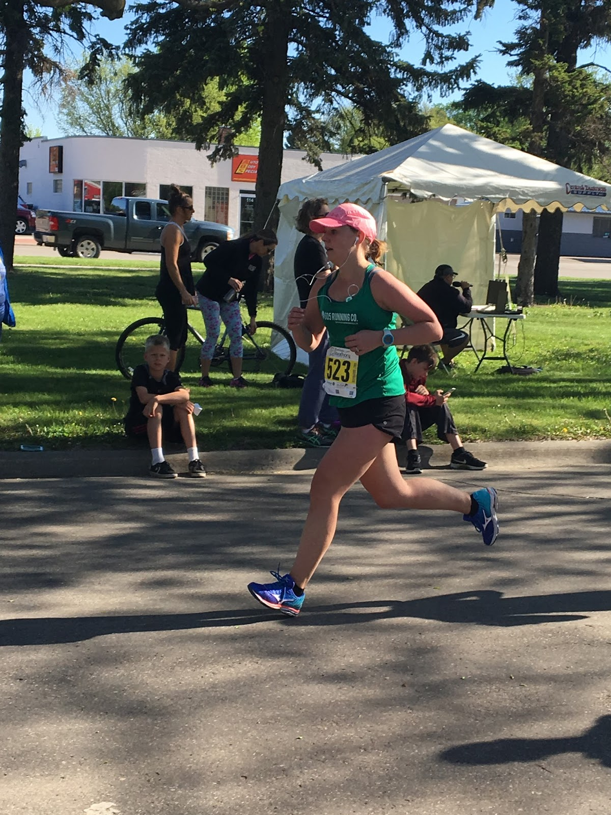 5/13/17 Brookings Half Marathon 2:05:44