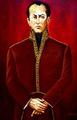 Imagen de José Faustino Sánchez Carrión parado y a color