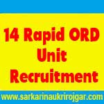 14 Rapid ORD Unit Jobs