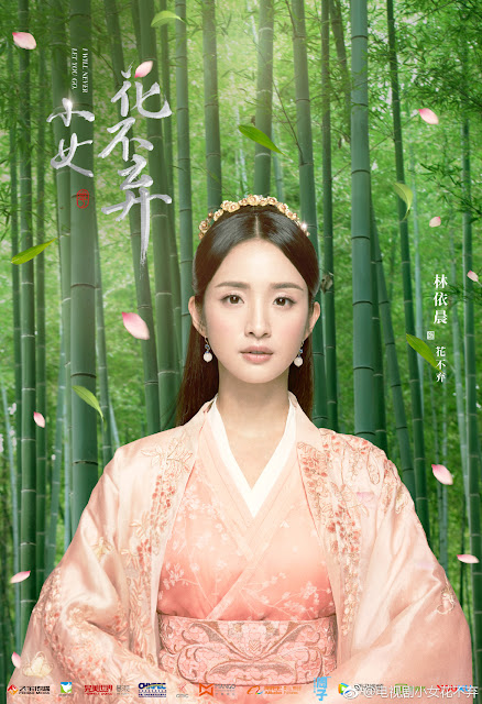 I Will Never Let You Go Hua Buqi cdrama Poster Ariel Lin