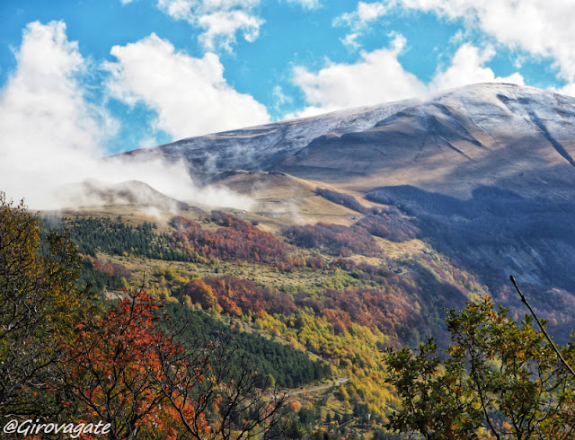 sentiero camosci trekking monti Sibillini
