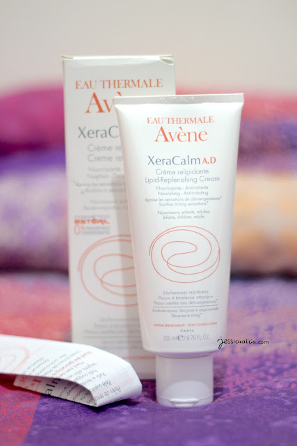 Avene XeraCalm A.D Lipid-replenishing Cleansing Oil & Cream by Jessica Alicia