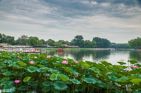 Lago Shichahai. El viejo Pekin