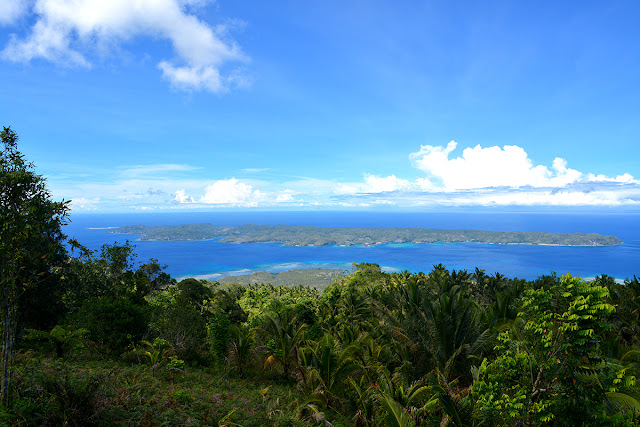 View of Saranggani Island from Balut Island
