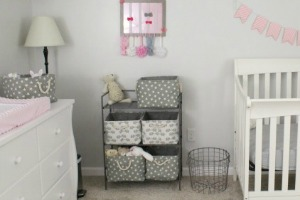 Laura S Plans Kate S Pink And Gray Nursery Reveal
