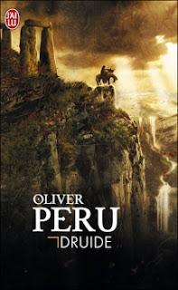 Couverture livre - critique littéraire - Druide - Olivier Péru ou Oliver Peru