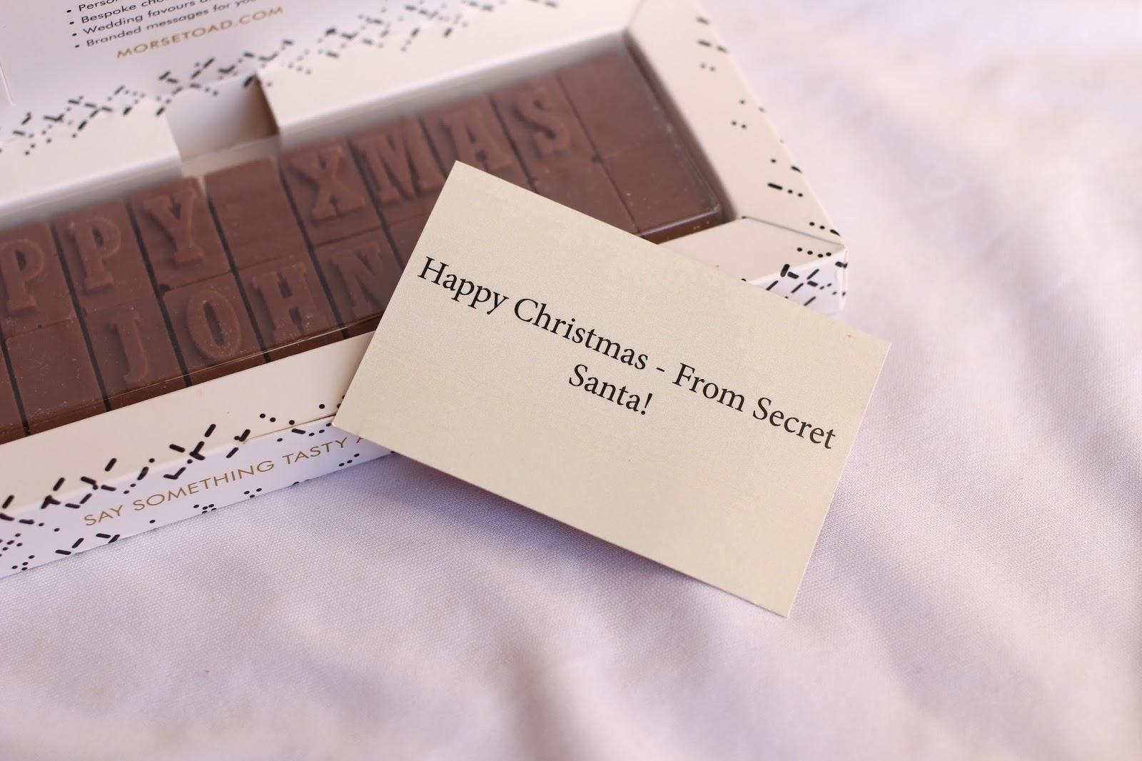Morse Toad Chocolate Card