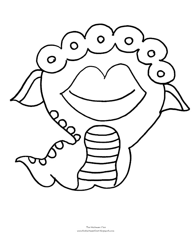 monster coloring pages coloring pages of monsters
