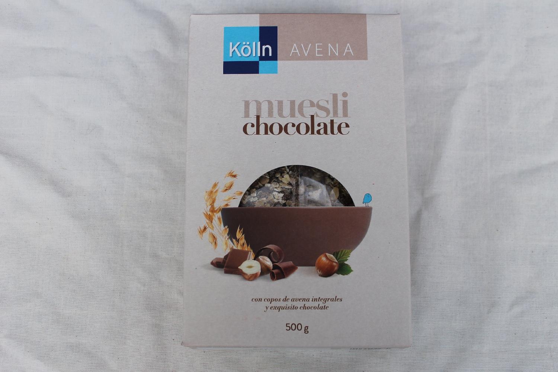 KOLLN son mueslis de chocolate deliciosos