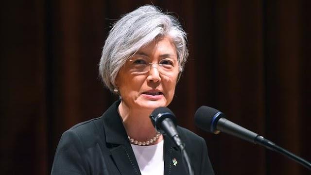 South Korean foreign minister Kang Kyung-wha says open to meeting North Korean counterpart