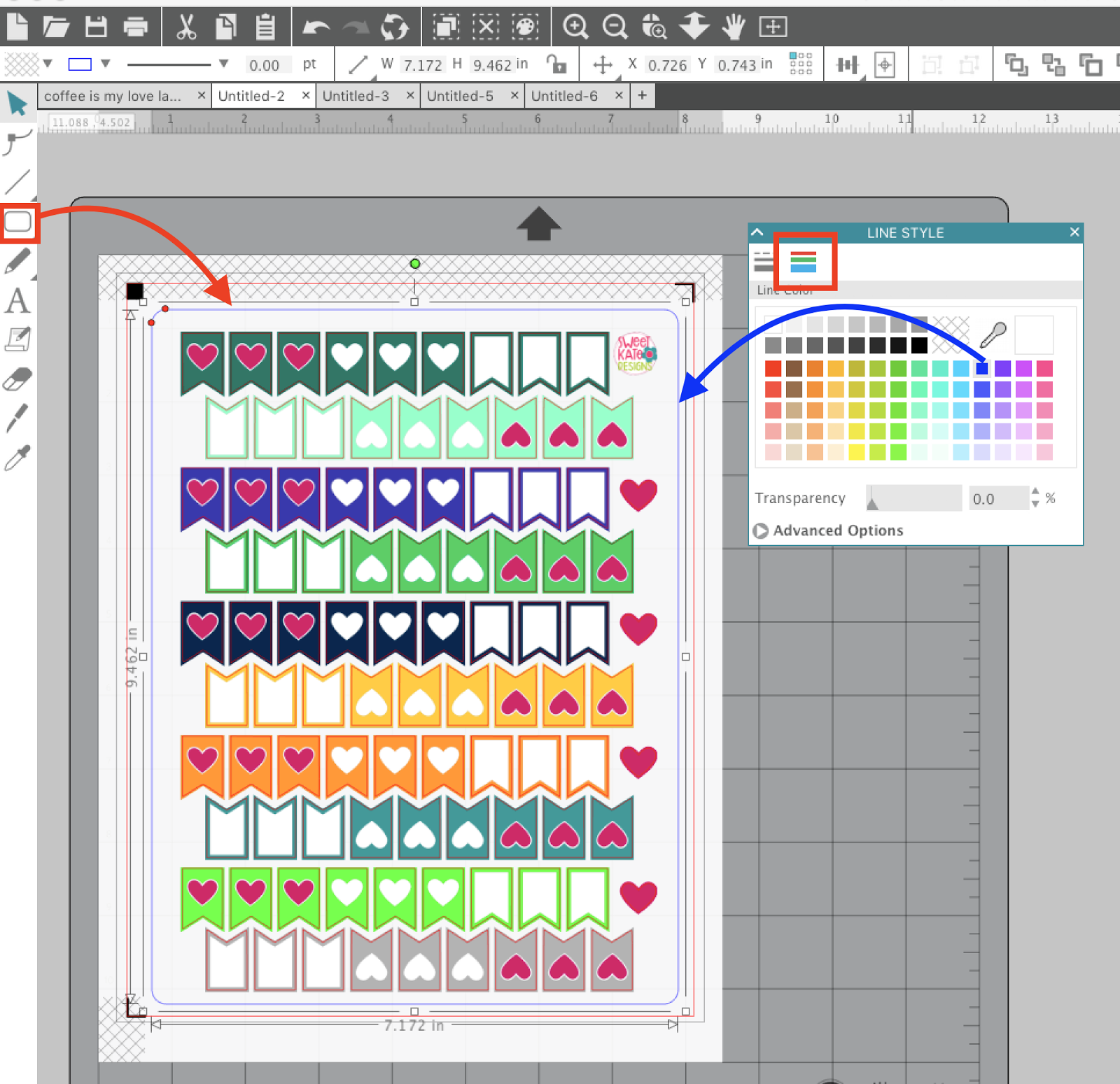 photograph relating to Printable Sticker Sheets identified as Promoting Sticker Sheets: Silhouette Studio Insider secrets in direction of Getting rid of