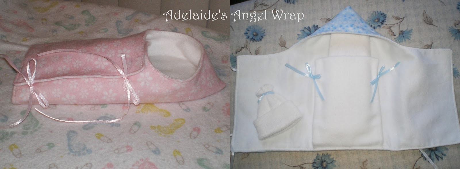 Michele Bilyeu Creates With Heart And Hands Angel Wraps