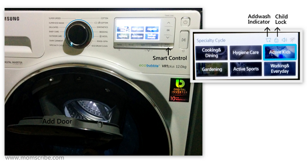 Samsung WW8500 AddWash Washing Machine
