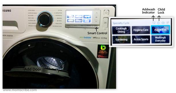 Samsung WW8500 AddWash Washing Machine