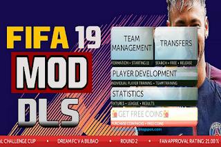 DLS Classic Mod FIFA 19 by Gabriel CR Apk