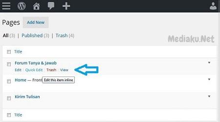 Menampilkan Kotak Komentar WordPress Di Page