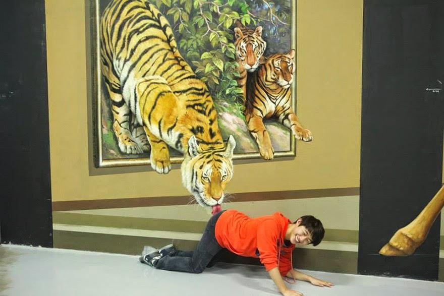 Muzej 3D umjetnosti u kojem nema zabrane