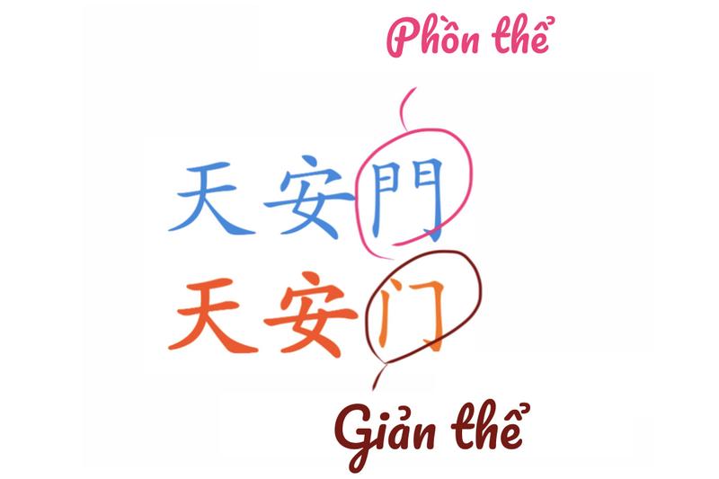 Đài Loan sử dụng kiểu chữ tiếng Hoa phồn thể