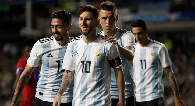 seleccion argentina de futbol en rusia 2018 - imagenes seleccion argentina de futbol