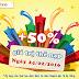 Khuyến mãi 50% thẻ nạp Mobifone duy nhất ngày 24/02