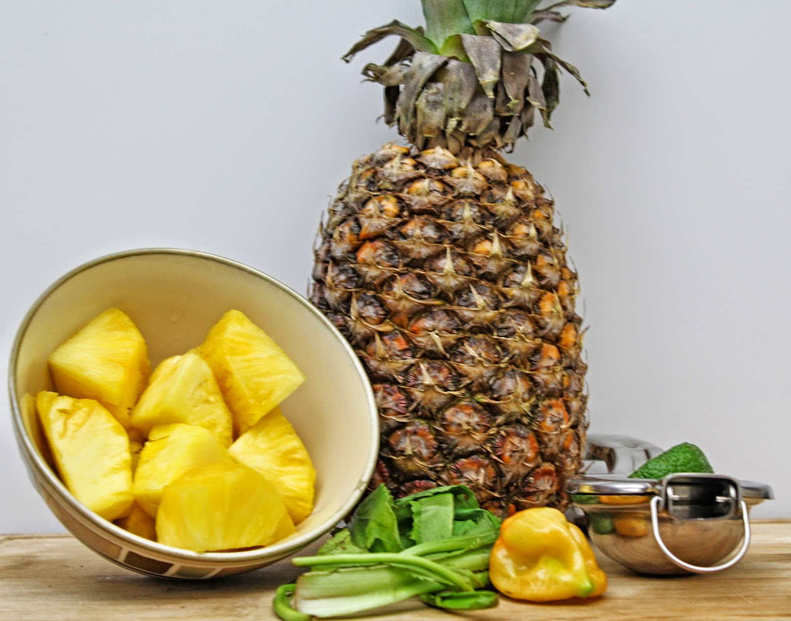 Pineapple Chow