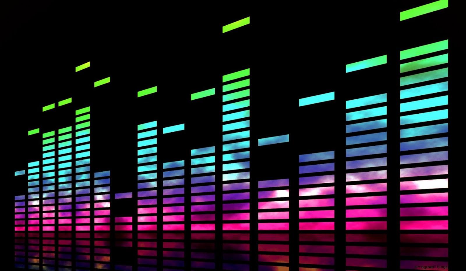 Music Bars Wallpaper: The Equalizer Wallpaper